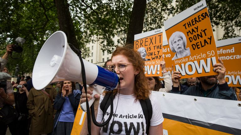 Brexit campaigners urge the Government to get on with it