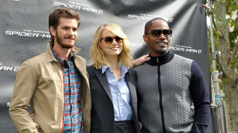 The Amazing Spider-Man 2 cast