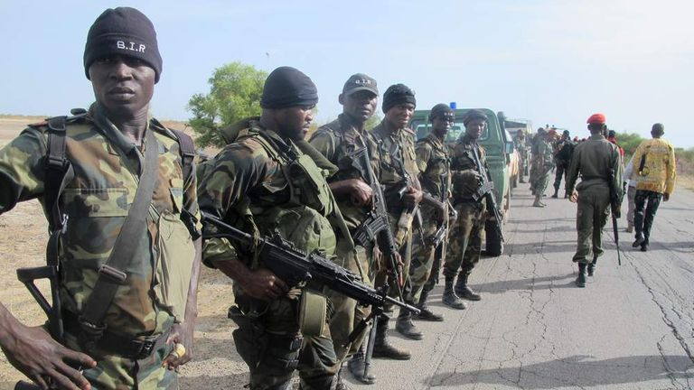 Soldiers in Cameroon prepare against the threat posed by Boko Haram militants