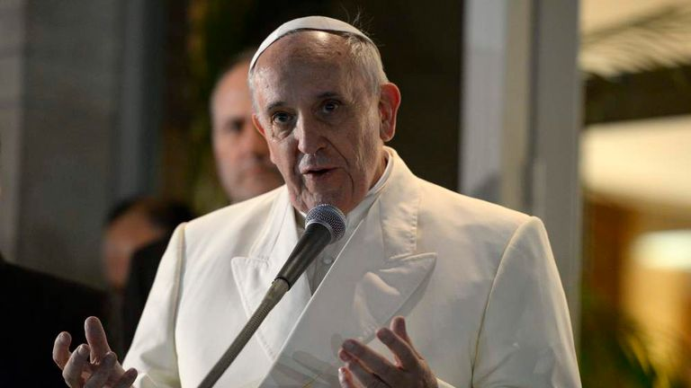 ITALY-VATICAN-POPE-VISIT