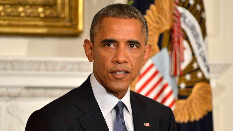 Barack Obama Iraq Airstrikes Statement
