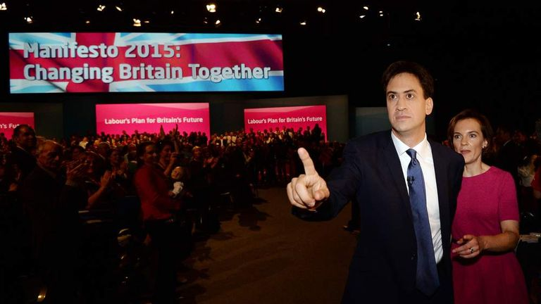 Labour Leader Ed Miliband Gives His Keynote Speech At the Annual Party Conference