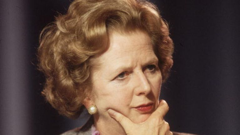 Margaret Thatcher's icon hairstyle was a big part of her image