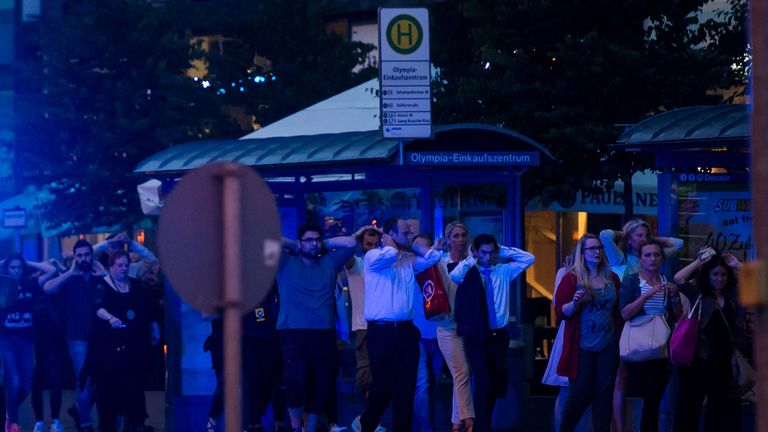 At least eight people have been killed in the Munich terror attack