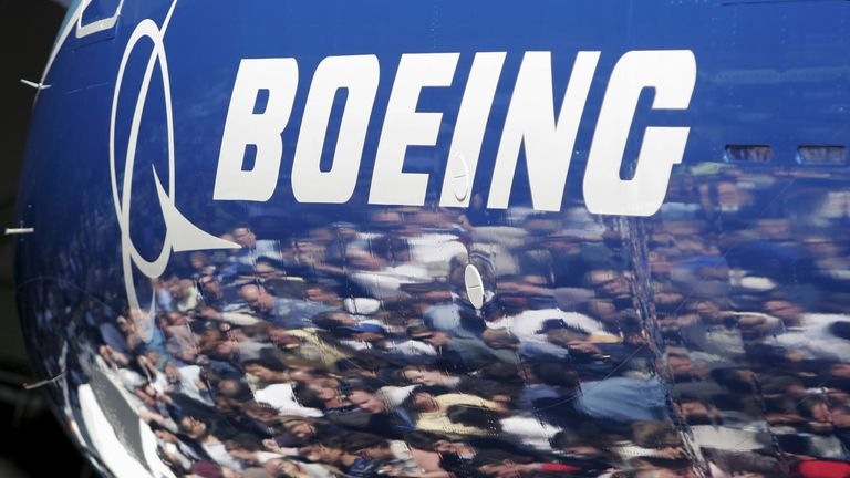 Boeing posted a loss in the second quarter of 2016