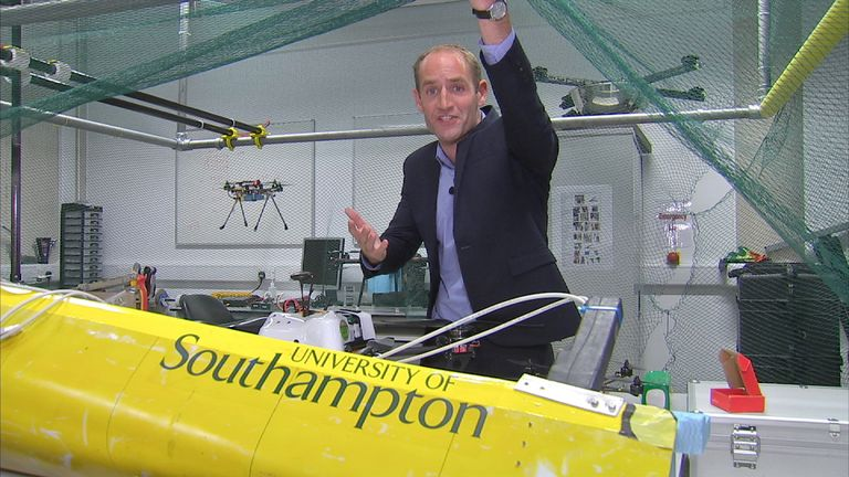 Amazon may soon be delivering by drone to a back garden near you, Sky's Tom Cheshire reports