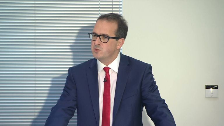 Owen Smith highlighted what he called the UK's inequalities