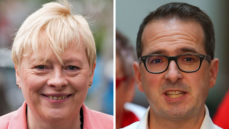 Angela Eagle and Owen Smith