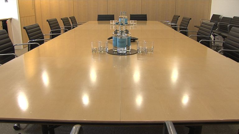 A typical boardroom