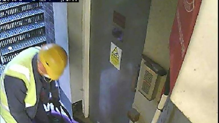 CCTV from Hatton Garden heist