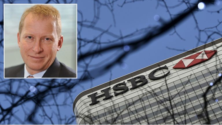 Mark Johnson (inset) was HSBC's head of global foreign exchange cash trading