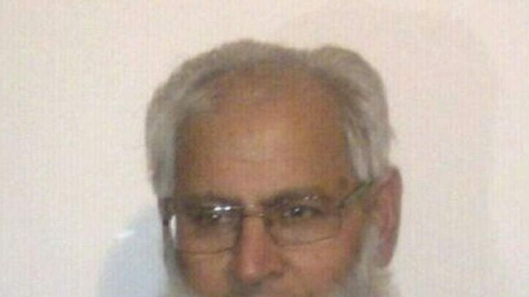 Mohammed Saleem, who was killed in an attack in Birmingham in April 2013.