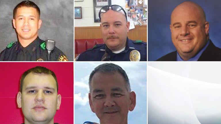 Dallas Shooting Victims