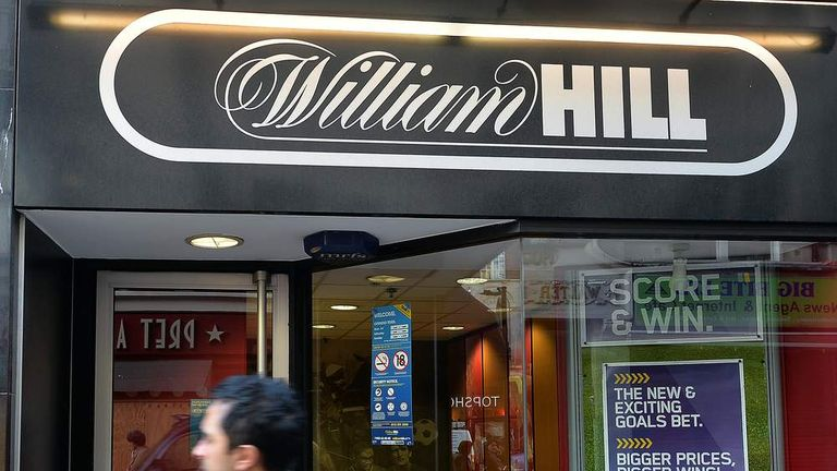 William Hill shops hit by tax hike