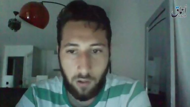 Priest murderer Abdel-Malik Petitjean is said to appear in a new Islamic State video