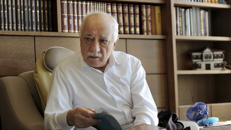 Fethullah Gulen has been accused of encouraging the coup attempt