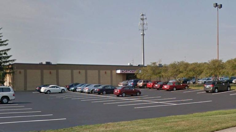 Worker killed at Northwest Lanes in Fairfield, Ohio. Pic: Google Street View