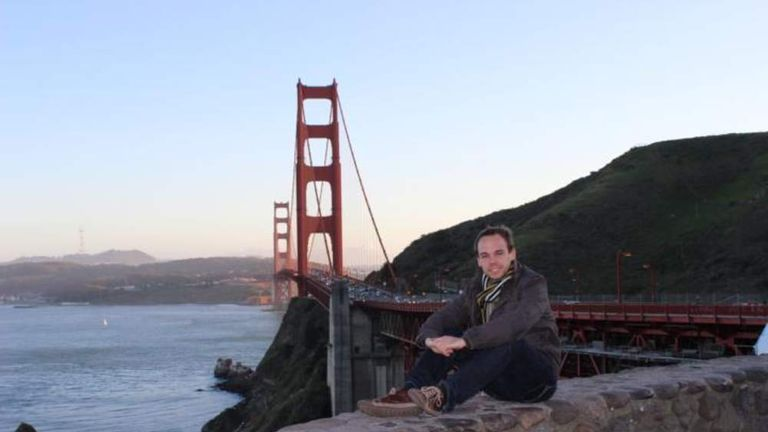 Facebook profile picture of Germanwings co pilot Andreas Lubitz