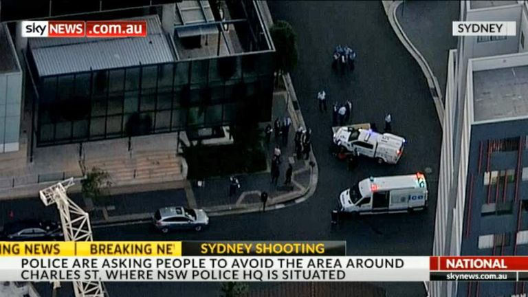 Australia: Two Dead In Police Station Shooting | World News | Sky News