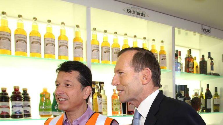 Opposition Leader Tony Abbott i