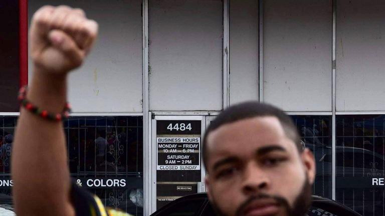 Micah Johnson was a follower of several black militant groups on Facebook