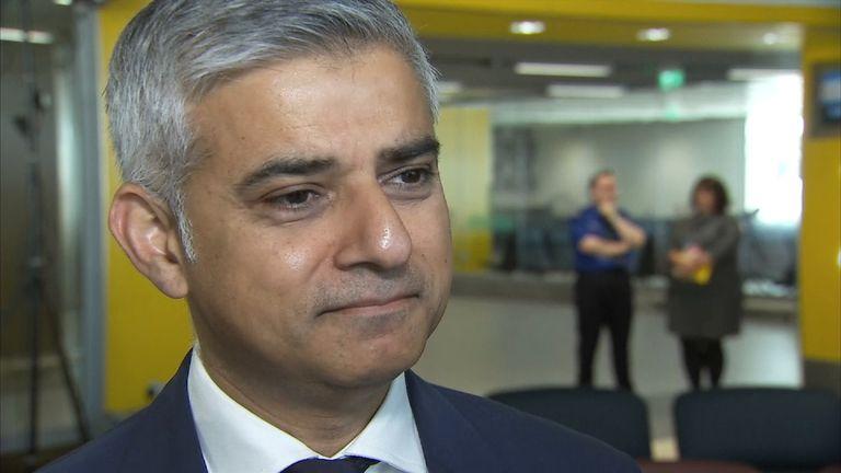 London Mayor Sadiq Khan Reacts To Attack In Nice