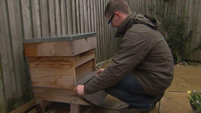 Beekeeper Mark Paterson
