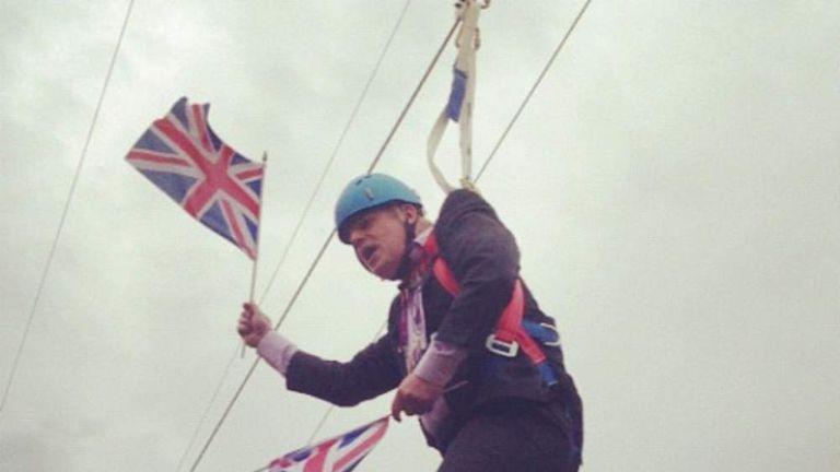 Boris Johnson. Courtesy of Lily