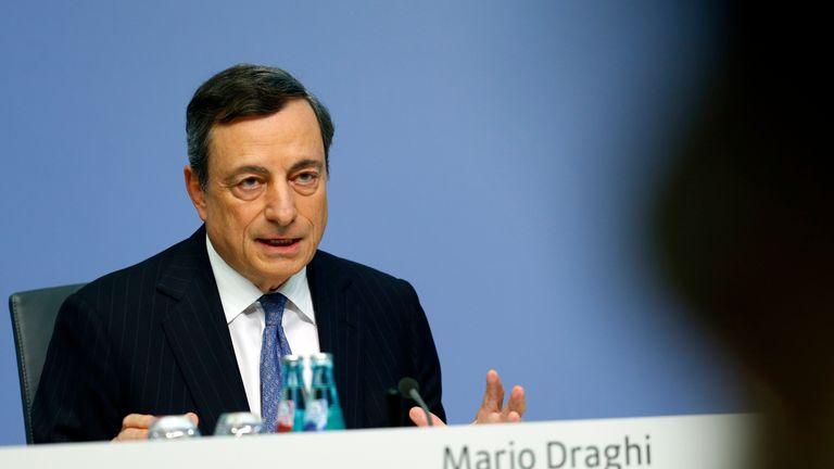 Mario Draghi at ECB press conference 21 July 2016