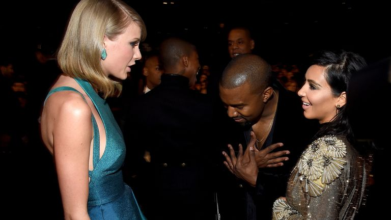Kim Kardashian : la star de la télé réalité répond à Taylor Swift
