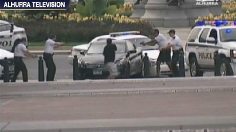 The Capitol Hill Shooting Car Chase