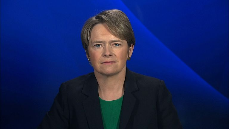 Dido Harding is chief executive of TalkTalk