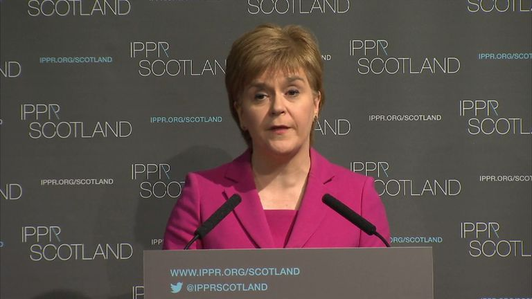 Nicola Sturgeon says the rules on Brexit have yet to be written