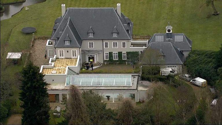 Boris Berezovsky's house in Ascot, Berkshire
