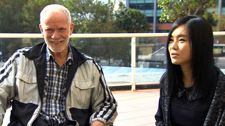 Dick Stolp and Hyeonseo Lee
