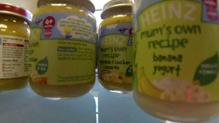 Baby Foods Found To Lack Nutrients Study Uk News Sky News