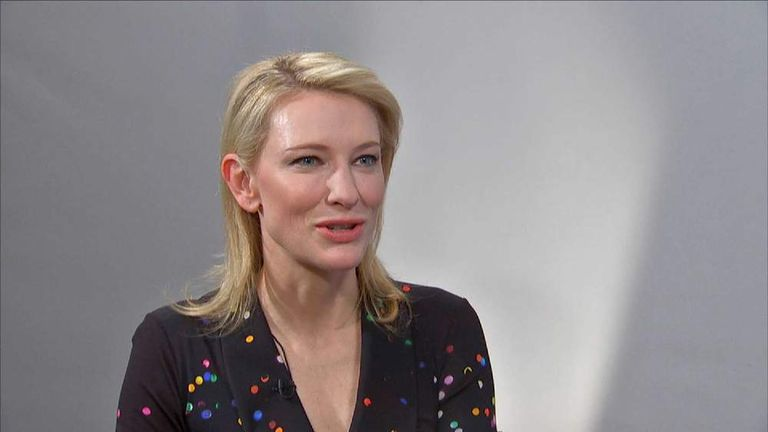 Cate Blanchett on new Woody Allen film Blue Jasmine