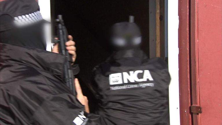 Uk British News Sky Starts Fbi-style Agency Crime Work