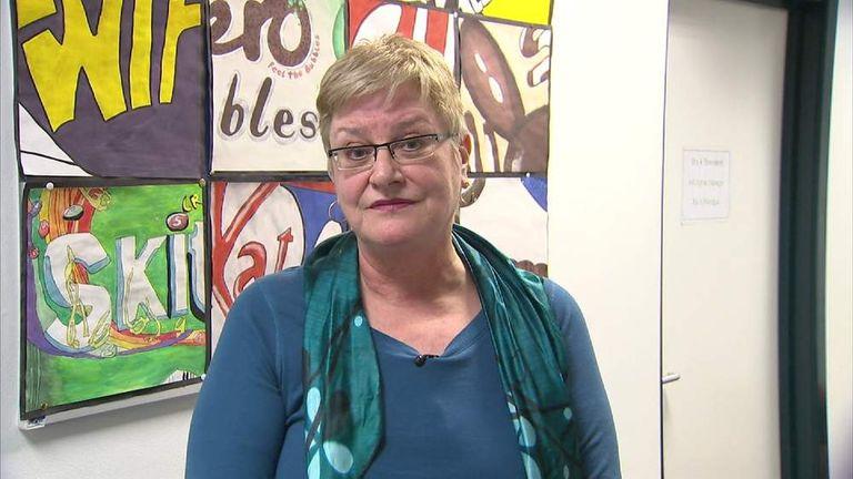 Headteacher of Leeds City School, Georgiana Sale