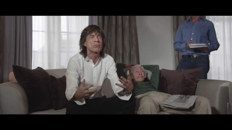 Mick Jagger introduces the Monty Python Live (mostly) Press Conference