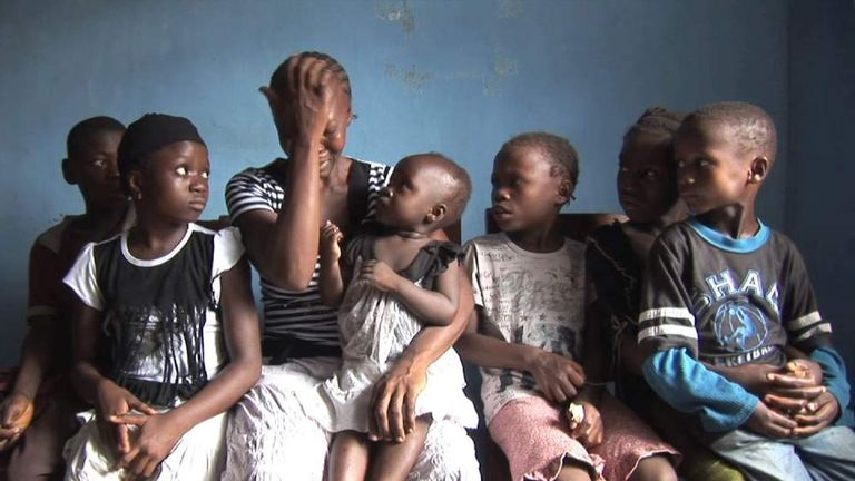 Ebola leaves a woman caring for 12 children alone Pic: Street Child