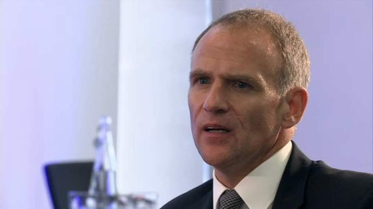 Tesco Chief Executive Dave Lewis