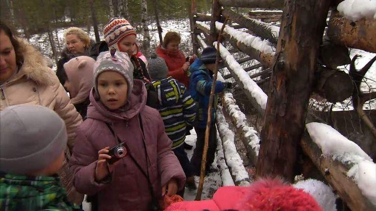 School Trip To Meet Saami Reindeer