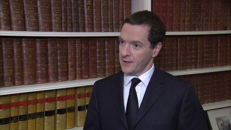 George Osborne Screen Grab