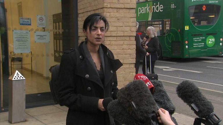 Renu Daly, Victim's Solicitor