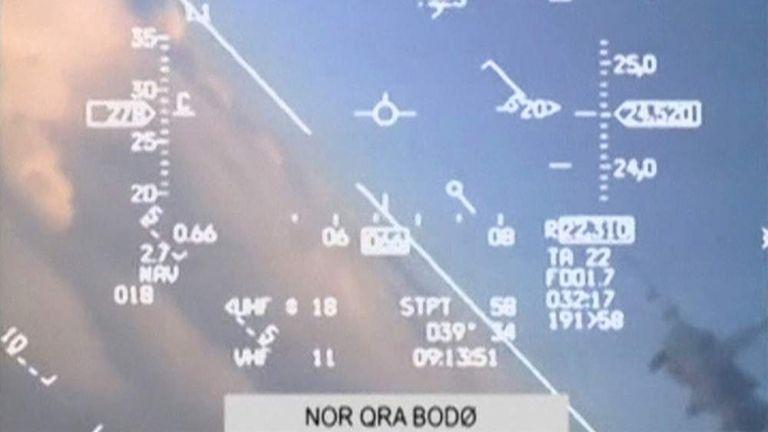 Norwegian jet in near-miss with Russian plane
