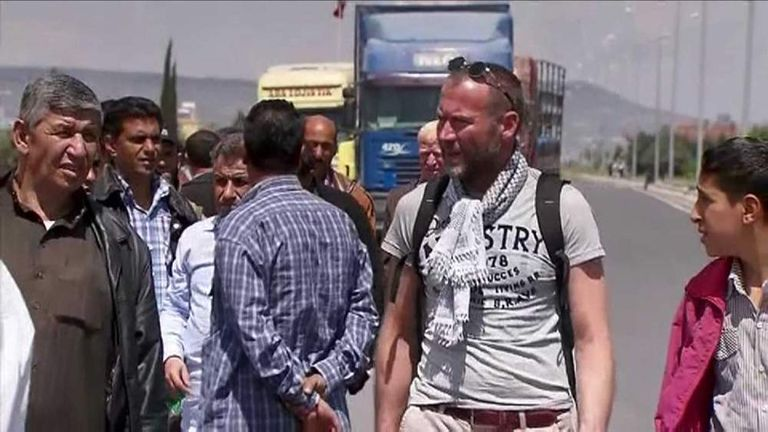 Dimitri Bontinck In Syria Looking For His Son