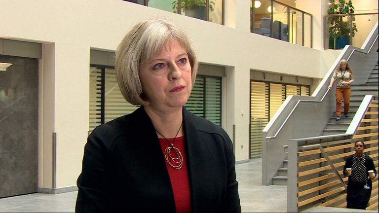Home Secretary, Theresa May MP