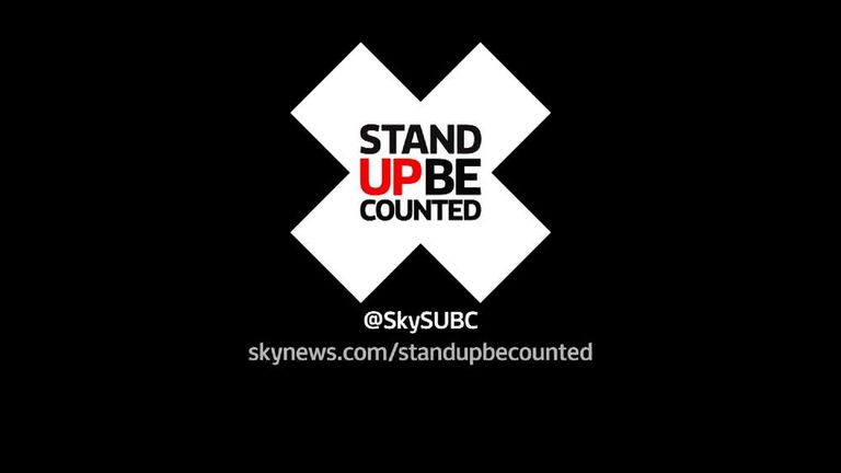 Stand Up Be Counted Generic Slate