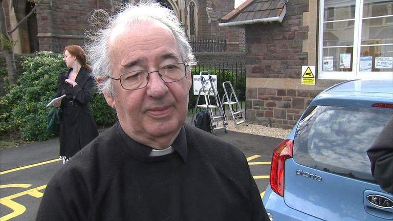 Rev David James of St Ambrose Church in Bristol